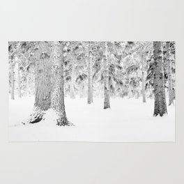 Winter Whiteout Rug