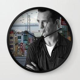 Jack Kerouac San Francisco Wall Clock