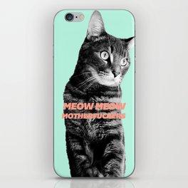 Meow Meow iPhone Skin