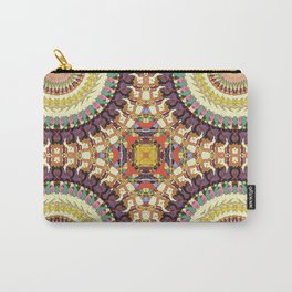 Abstract Colorful Mandala Carry-All Pouch