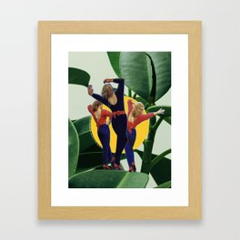 Memoria colorida Framed Art Print