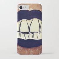 teeth iPhone & iPod Cases featuring  Teeth by Hayleydonovan