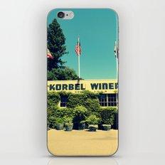 Korbel Winery iPhone & iPod Skin