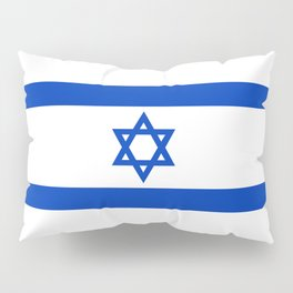 Flag of the State of Israel - High Quality Image Pillow Sham