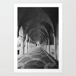 V E N I C E | Black and White Art Print