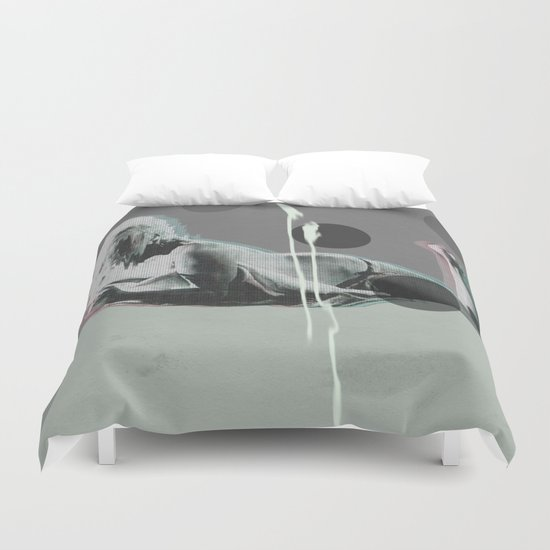 wash my soul Duvet Cover