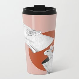 Lioness Bunny Metal Travel Mug