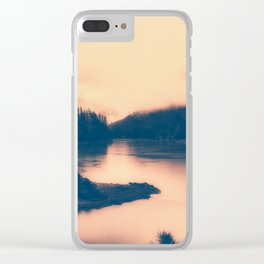 The Color of My Dreams Clear iPhone Case
