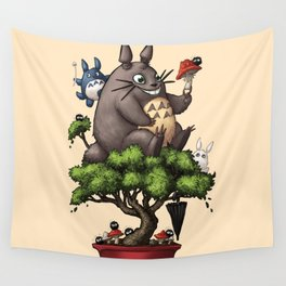 Forest Guardian Bonsai  Wall Tapestry
