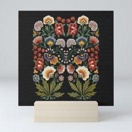 Plant a garden Mini Art Print
