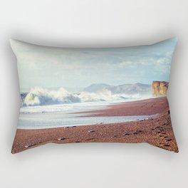Crashing Coast Rectangular Pillow