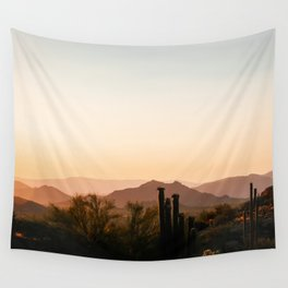 Prickly Pear Sunset / Arizona Wall Tapestry
