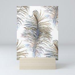 Ostrich Gold Mini Art Print