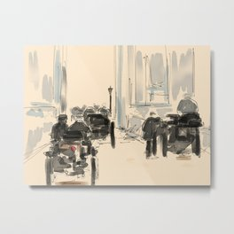 London To Brighton Metal Print