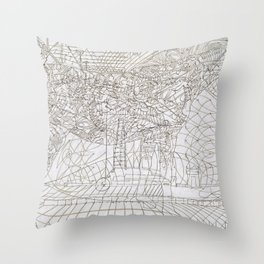 Gladhand Throw Pillow
