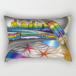 Windy City Pride Rectangular Pillow