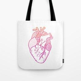 Designer Heart Tote Bag