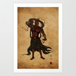 Darth A-un Art Print