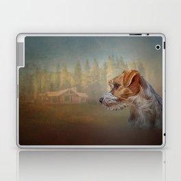 Jack Russell Terrier dog Laptop & iPad Skin