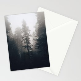 Treetop fog Stationery Cards