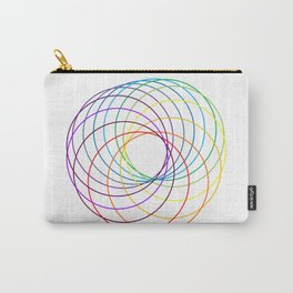 Spiranbow Graph Carry-All Pouch