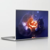 pumpkin Laptop & iPad Skins featuring Pumpkin by apofiss