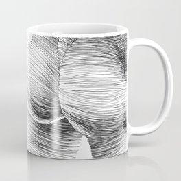 line drawing of a nude girl Coffee Mug