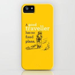 A good Traveller iPhone Case