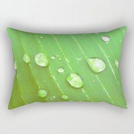 Jungle Drops. Rectangular Pillow