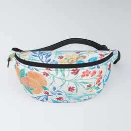 Good Fortune Asian Floral Pattern With Orange Blossoms Fanny Pack