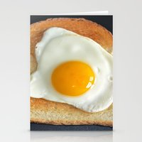 breakfast Stationery Cards featuring Breakfast by Asano Kitamura