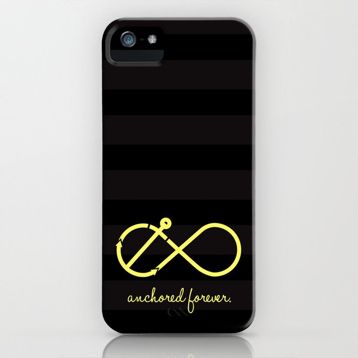 Anchored Forever iPhone Case