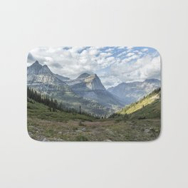 Catching a View from Going to the Sun Road Bath Mat