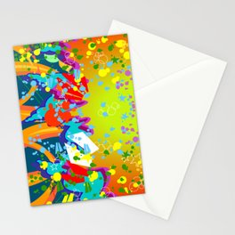 GRAFF EXPLOSION Stationery Cards