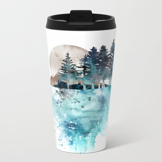 Landscape Metal Travel Mug