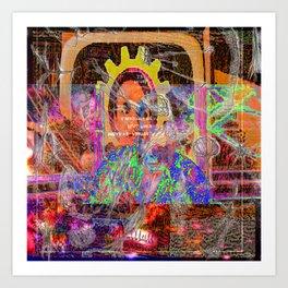 Cyberia, Next Art Print