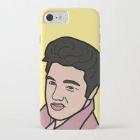 elvis presley iPhone & iPod Cases featuring Elvis Presley by agr_artwork