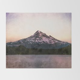 Getting Lost at the Lake Throw Blanket