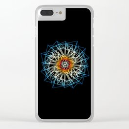 UNIVERSE 43 Clear iPhone Case