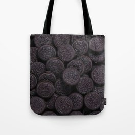 Oreo Cookie Pattern Illustration Tote Bag