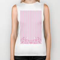 rockabilly Biker Tanks featuring rockabilly lines by La Señora