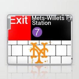 NYC Mets Subway Laptop & iPad Skin