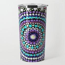 Dotted Mandala Travel Mug