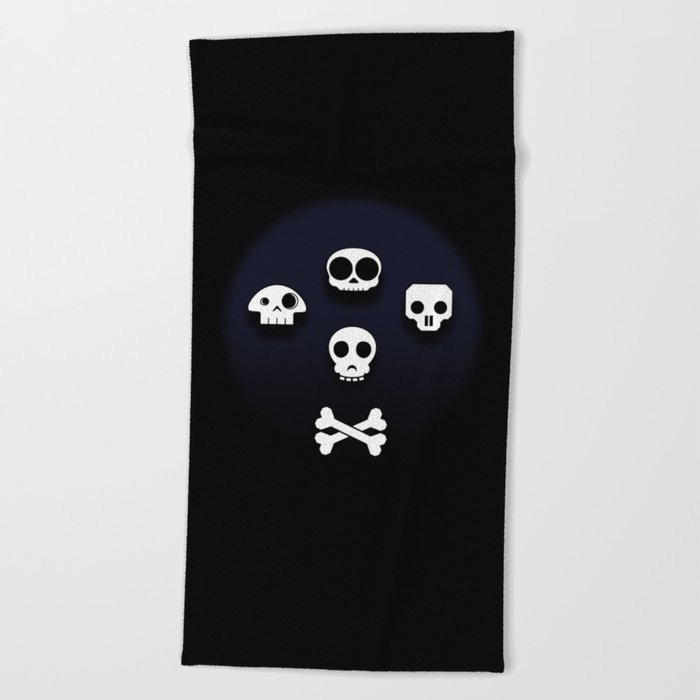 Easy come, easy go. Little high, little low. Beach Towel