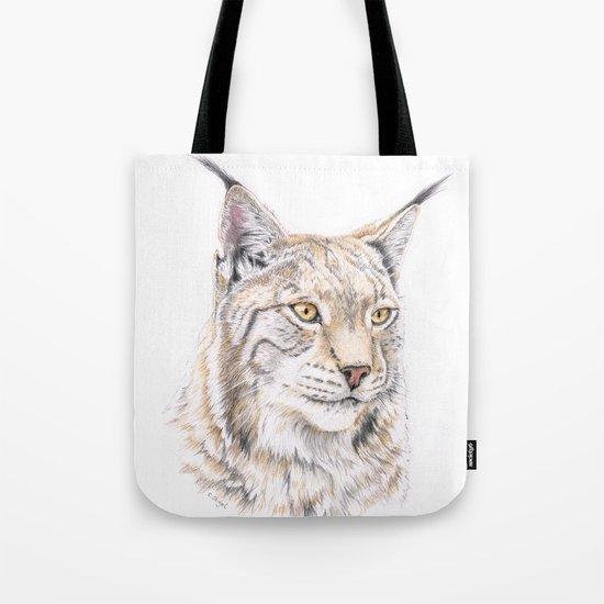 Lynx - Colored Pencil by skidgelstudios