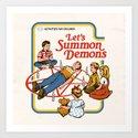 LET'S SUMMON DEMONS by stevenrhodes