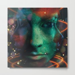 A Change Of Face Metal Print
