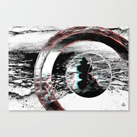 solid Canvas Prints featuring Solid by ChiTreeSign
