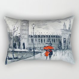 London city Rectangular Pillow