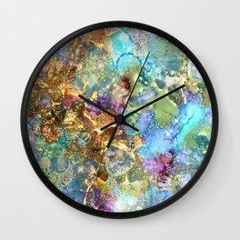 Mermaids Treasure Wall Clock